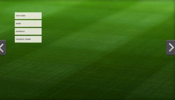 在新的体育应用中,语义变焦(semantic zoom)为多个层面的内容提供支持。